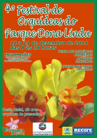 Festival de Orquídeas do Parque Dona Lindu